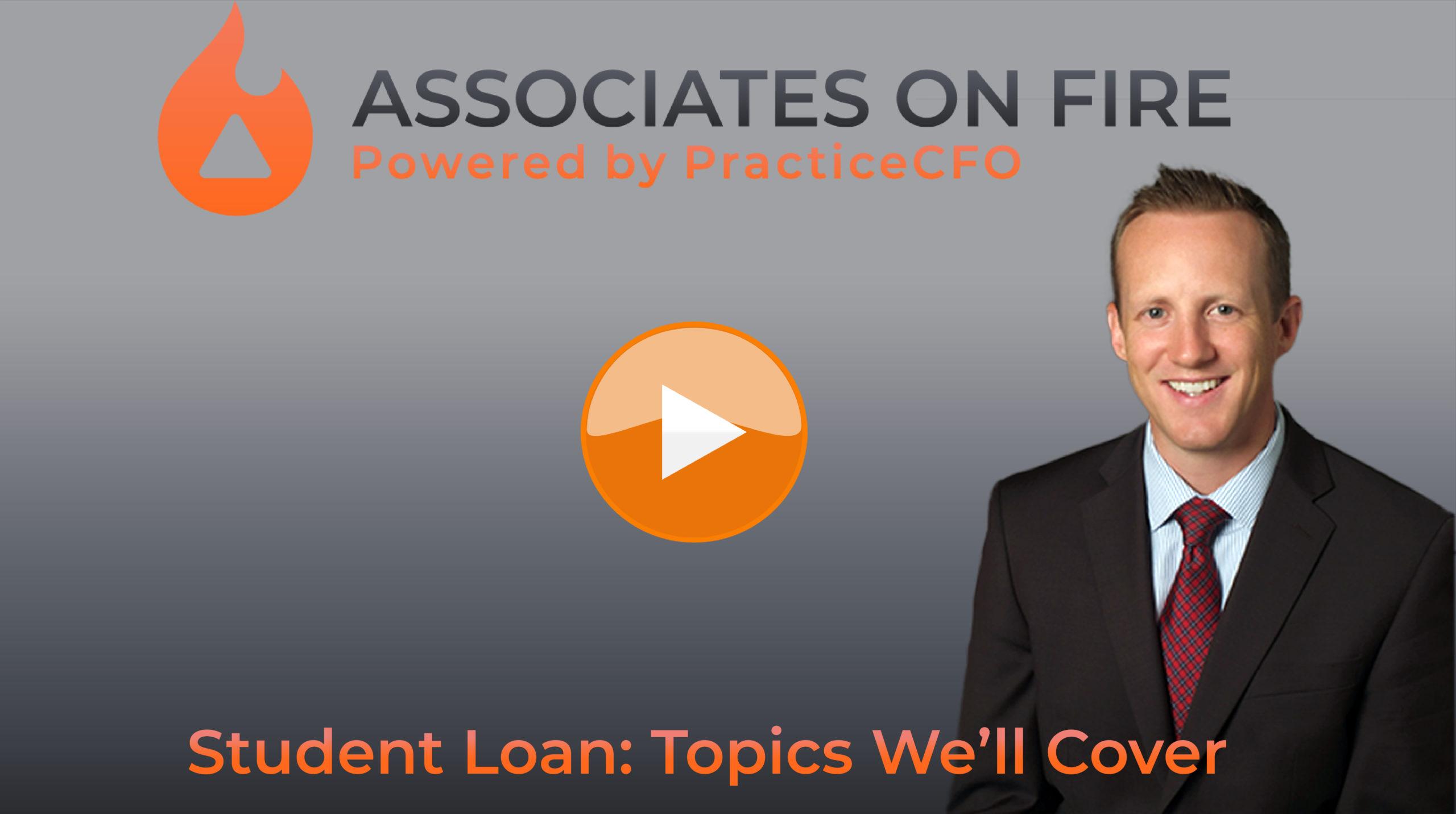 Student Loans: Topics We'll Cover